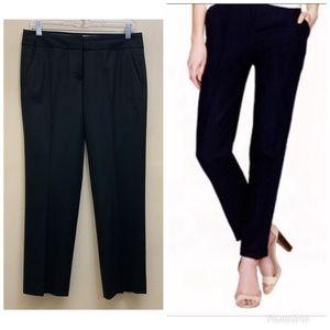 J. Crew | Black City Fit Pants Size 2